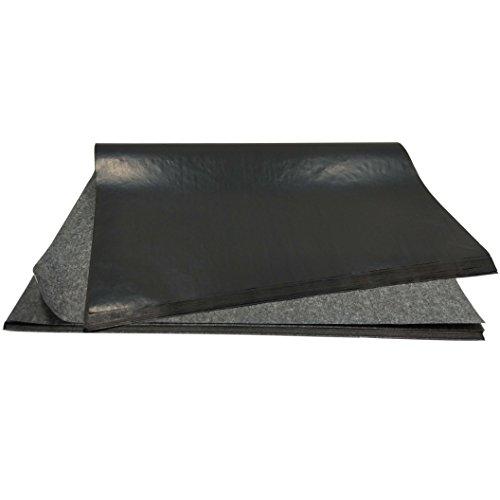 50 Blatt Kohlepapier Durchschreibepapier Pauspapier Carbon Transferpapier 23x33cm für Holz Papier Leinwand Schwarz