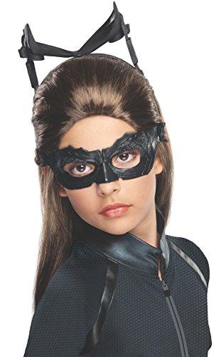 Catwoman Rises Dark Knight Kostüm - Rubies Costume Co 52678R M-dchen Batman The Dark Knight Rises Catwoman Per-cke