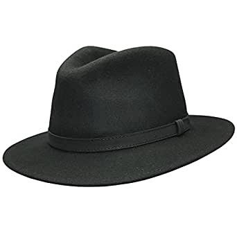 abff1754f93 Cotswold Country Hats FEDORA HAT WITH FAUX LEATHER BAND MENS LADIES ...