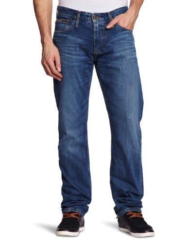 Hilfiger Denim Herren Straight Leg Jeans Ryan LAU, Gr. W31/L34, Blau (La Used) (Jeans Hilfiger Für Tommy Männer)