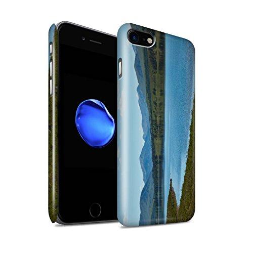 STUFF4 Glanz Snap-On Hülle / Case für Apple iPhone 8 / Pack 14pcs / Schottisch Landschaft Kollektion Loch/Tal