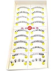 BESTIM INCUK 10Pairs Different Under / Lower / Bottom False Eyelashes Eye Lashes Extension Makeup