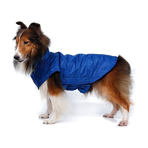Kimfoxes Hundemantel Wasserdicht Winterjacke Herbst Weste Pet Dog Coat Jacket Costüm Wasserdicht Regenjacke Regenmantel Winter Warm für Kleine Mittlere große Hunde