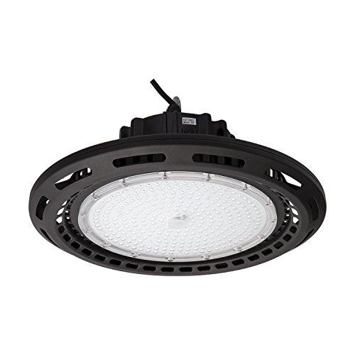 ALOTOA 200W 26000LM LED Hallenstrahler Wasserdicht IP65 UFO Led High Bay Licht LED Industrial Kron Leuchter LED Werkstatt Beleuchtung Lagerhallen Hallentief Strahler Produktionshallen (Kaltweiß 5700K) (Hohe Licht Bucht)