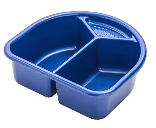 Rotho Babydesign Waschschüssel, 4l, Ab 0 Monate, TOP, Royal Blue Pearl (Dunkelblau), 200060265