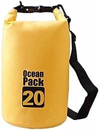 Glive's 20 Litter Waterproof Dry Bag Sack Storage Bag Organizer For Traveling Gym Camping