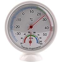 XuMarket (TM) portátil termómetro higrómetro digital de interior al aire libre Mini Puntero Medidor de temperatura estación meteorológica neasuring Termometro