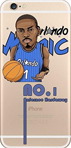 NBA Player Cartoon TPU Soft Case für Apple iPhone 6/6S PENNEY HARDAWAY