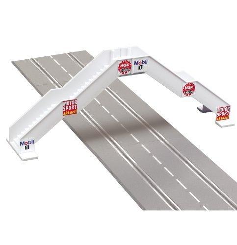 Foot bridge for slot car track. CAR21119 by Carrera USA