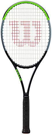Wilson Unisex Adult 2-WR013811U1 Blade 98s V 7.0 Tennis Frame - Black/Green/Grey, Grip 1