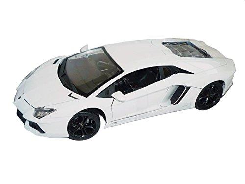 Preisvergleich Produktbild Lamborghini Aventador 2011 Lp700-4 Lp 700 Weiss Coupe 1/18 Bburago Burago Modellauto Modell Auto