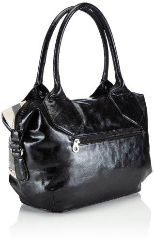 Poodlebag Friday, Sacs portés épaule femme Noir (Uk)