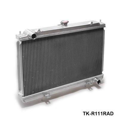 Performance 50mm 2 Row-Legierung Aluminium-Kühler für Nissan Silvia S14 S15 SR20DET 240SX 200SX Handbuch TK-