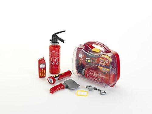 Theo Klein 8984 - Firefighter Henry Maletin De Bomberos Con Numerosos Accesorios