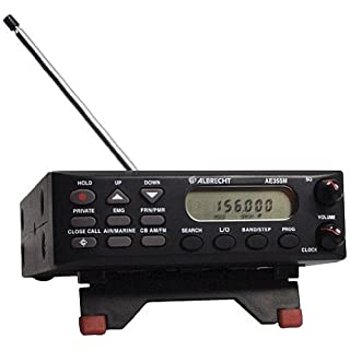 Albrecht AE-355M Mobile/Desktop AM/FM Radio Scanner with