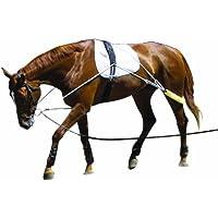 PESSOA - Cuerda para entrenamiento de caballos negro negro Talla:Cob/Full