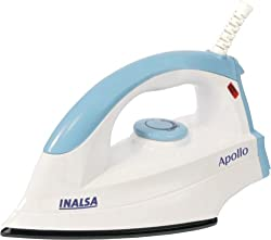 Inalsa Apollo 750-Watt Dry Iron