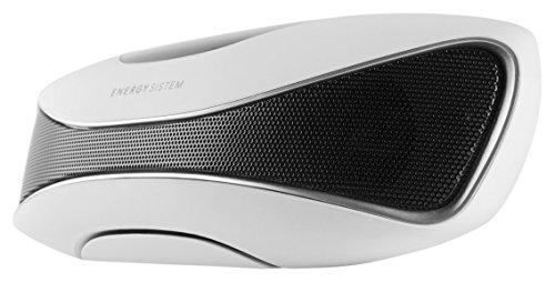 Energy Sistem Energy Music Box Z3 -  Altavoz portátil 2.0, 6W, radio FM, lector USB/SD y display integrado, blanco