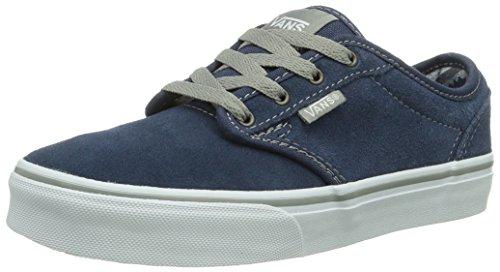 Vans Y ATWOOD (SUEDE) PACIFIC, Unisex-Kinder Sneakers, Blau ((Suede) Pacific F1W), 36 EU (3.5 UK) (4.5 US)