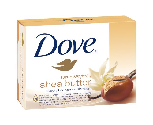 Dove Waschstück Cream Bar Seife Sheabutter, 6er Pack (6 x 100 - Shea-butter-formel