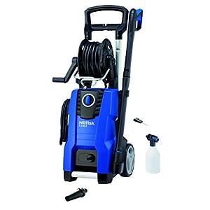 Nilfisk E 130.3-9 X-TRA Vertical Eléctrico 500, 450l/h 2100W Negro, Azul Limpiadora de alta presión o Hidrolimpiadora – Limpiador de alta presión (Vertical, Eléctrico, 9 m, 5 m, Negro, Azul, Aluminio)