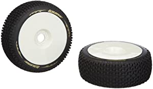 Jamara 54802 - Neumáticos + llantas (escala 01:08, B-Pirate, duros) importado de Alemania