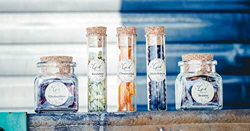 Gin Botanicals Box 5 Gin-Tonic Aromen Bio als Geschenkbox ZUM VERFEINERN VON GIN TONIC COCKTAILS -