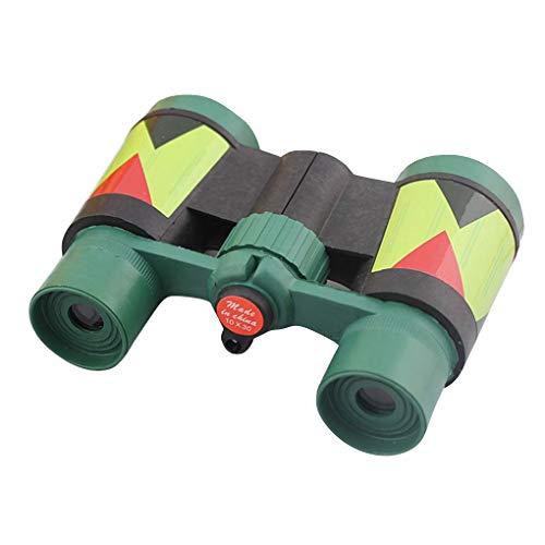 Vkospy Camuflaje Verde plástico 10x 30 Binocular