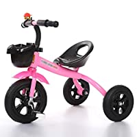 BABYCBICK Kid bicycle Kids Bicycle 1-3 years old Bicycle Boy Girl Stroller Toy Car Trike Kid 3 Wheels, Baby Products children bike bicycle Boy child-bike toybike (color : Pink)