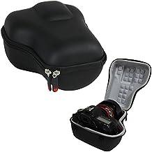 Hermitshell Caja protectora de viajes EVA Llevar tamaños cubierta de la bolsa del bolso compacto para Canon EOS 5D Mark II III 5DS R EF 24-105mm f/4 F4 L IS USM EF 24-70mm f/2.8L II USM DSLR Lens