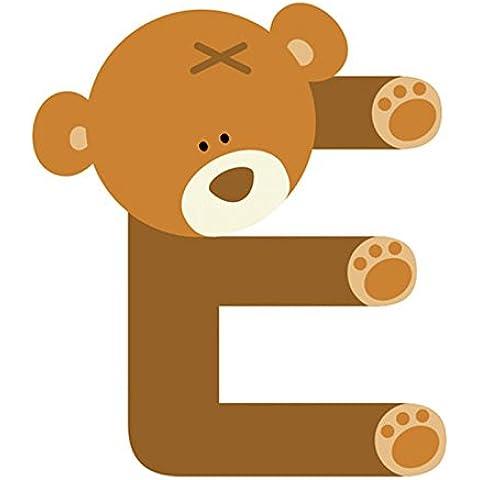 Bambino, a forma di orsetto, in legno,