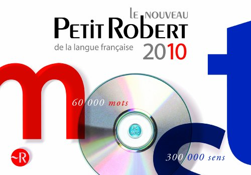 Le nouveau Petit Robert de la langue française 2010