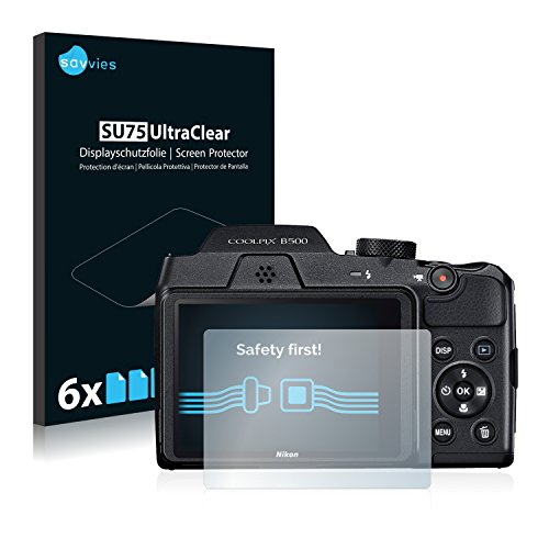 Galleria fotografica [6 Pack] Pellicola Protettiva per Nikon Coolpix B500 Protezione Proteggi Schermo