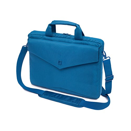 DICOTA Code Slim Case 13 (für Notebooks bis 33 cm) kompakte Notebooktasche mit Tablet-Fach / blau