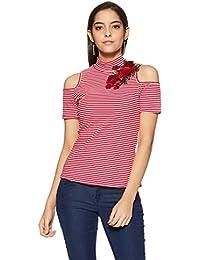 Jealous 21 Women's Striped Regular Fit Top