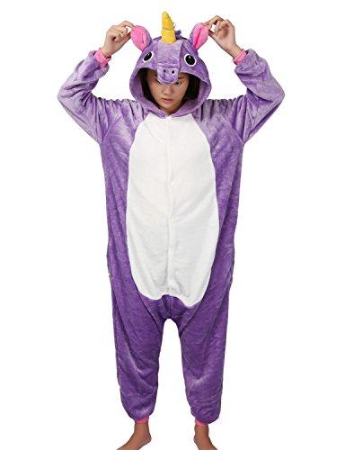 Pyjamas Tier Kostüm Schlafanzug Jumpsuit Erwachsene Unisex Cosplay Halloween (Halloween Flanell Kostüm)