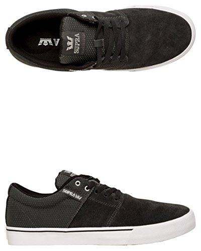 Supra  STACKS VULC II, Sneakers basses hommes Multicolore - Grey/Silver/White