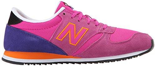 New Balance Women's WL420 Bold Brights Running Shoe Azalea/Lanzarote/Apricot