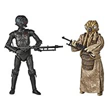 Star Wars The Black Series 4-LOM and Zuckuss Toys 15 cm Scale Star Wars: The Empire Strikes Back Collectible Figures 2 Pack, Ages 4 and Up