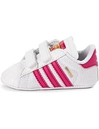 adidas Superstar Crib, Zapatos de Primeros Pasos Unisex Bebé