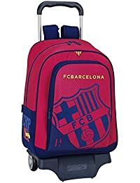 077062 F.C. Barcelona Mochila Tipo Casual, Color Azul y Granate