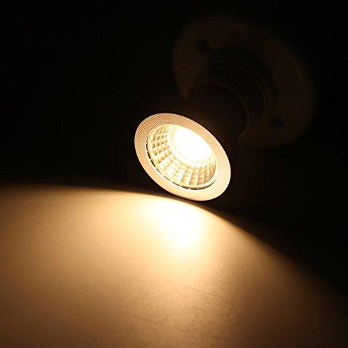 5W LED COB Flood Leuchtmittel, ultra helle LED-Lampe E27/GU10/MR16Spot-Leuchtmittel Downlight Flood 60Grad, GU10-Sockel, GU10, 5.0W 265.0V -