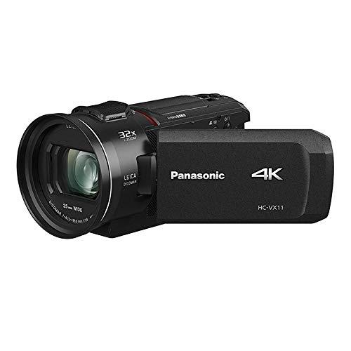 Panasonic HC-VX11EG-K 4K Camcorder (LEICA DICOMAR Objektiv mit 24x opt. Zoom, 4K und Full HD Video,  optischer Bildstabilisator) (Wie Sie Mit Amazon Instant Video)