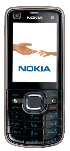 Nokia 6220 classic black (UMTS, HSDPA, Quadband, 5 MP, MP3 Player, UKW Radio, GPS) Handy