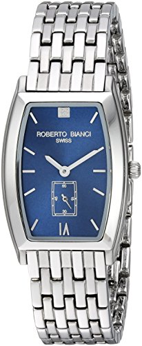 ROBERTO BIANCI WATCHES Women's 'Classico' Swiss Quartz Stainless Steel Casual Watch, Color:Silver-Toned (Model: RB18320)