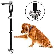 MEKEET Potty Doorbells for Dog Training Iron Bells, Adjustable Nylon Rope Toilet Training Bells (1PCS)