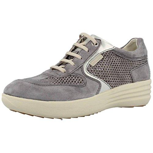 Stonefly 106215 femme de jeans d'espadrille de chaussures de lacets confort Gris
