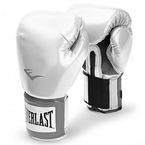 Everlast Erwachsene Boxartikel 2100  Pro Style Training Gloves, White, 12, 057211 01020