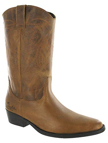 Wrangler - Botas para Hombre marrón Canela