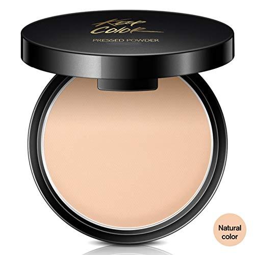 allbesta visage poudre Concealer Compact Powder Base Maquillage Fond De Teint Poudre Compacte Camouflage Fixing minéral